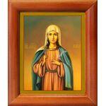 Мученица Ника Коринфская, икона в рамке 8*9,5 см - Иконы
