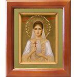 Страстотерпица Александра Романова, икона в рамке 12,5*14,5 см - Иконы