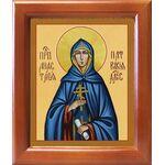 Преподобная Анастасия Патрикия, Александрийская, рамка 12,5*14,5 см - Иконы