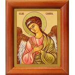 Архангел Селафиил, икона в рамке 8*9,5 см - Иконы