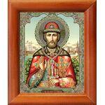 Благоверный князь Димитрий Донской, икона в рамке 8*9,5 см - Иконы