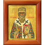 Святитель Макарий, митрополит Московский, икона в рамке 8*9,5 см - Иконы