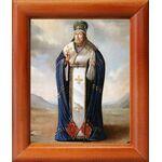 Святитель Иннокентий Иркутский, икона в рамке 8*9,5 см - Иконы