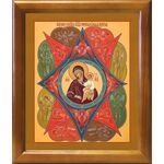 """Икона Божией Матери """"Неопалимая Купина"""", в рамке 20*23,5 см - Иконы"""