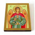 Архангел Иеремиил, икона на доске 13*16,5 см - Иконы