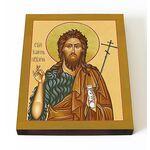 Предтеча и Креститель Господень Иоанн, икона на доске 13*16,5 см - Иконы