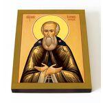 Преподобный Иосиф Волоцкий, Волоколамский, печать на доске 13*16,5 см - Иконы