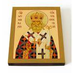 Священномученик Макарий Гневушев, Орловский, икона на доске 13*16,5 см - Иконы