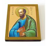 Апостол Павел, икона на доске 13*16,5 см - Иконы