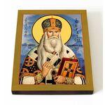 Святитель Серафим Соболев, архиепископ Богучарский, на доске 13*16,5см - Иконы