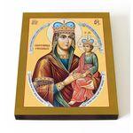 """Икона Божией Матери """"Споручница грешных"""", на доске 13*16,5 см - Иконы"""