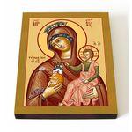 """Икона Божией Матери """"Тучная Гора"""", печать на доске 13*16,5 см - Иконы"""