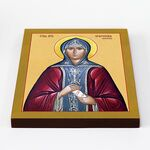 Преподобная Евфросиния Московская, Евдокия, икона на доске 20*25 см - Иконы