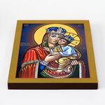 Киево-Братская икона Божией Матери, печать на доске 20*25 см - Иконы