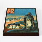 Преподобный Феодосий Тотемский, икона на доске 20*25 см - Иконы