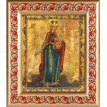 """Икона Божией Матери """"Благодатное небо"""", рамка с узором 14,5*16,5 см - Иконы"""