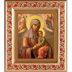 """Икона Божией Матери """"Страстная"""", рамка с узором 14,5*16,5 см - Иконы"""