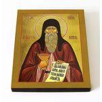 Преподобный Агапит Печерский, икона на доске 8*10 см - Иконы