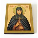 Преподобномученица Анна Ежова, икона на доске 8*10 см - Иконы
