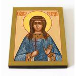 Мученица Анна Селевкийская, Персидская, икона на доске 8*10 см - Иконы