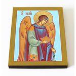 Архангел Иегудиил, икона на доске 8*10 см - Иконы