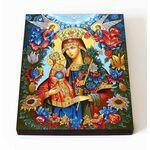 """Икона Божией Матери """"Благоуханный Цвет"""", печать на доске 8*10 см - Иконы"""