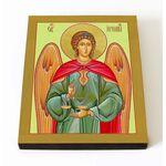 Архангел Иеремиил, икона на доске 8*10 см - Иконы