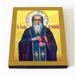 Преподобный Иоанн Печерский, икона на доске 8*10 см - Иконы