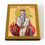Святитель Лаврентий Печерский, Туровский, затворник, икона 8*10 см - Иконы