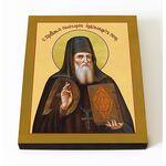 Преподобный Поликарп Печерский, икона на доске 8*10 см - Иконы
