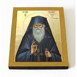 Преподобный Порфирий Кавсокаливит, икона на доске 8*10 см - Иконы
