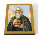 Преподобный Прохор Печерский, Лебедник, икона на доске 8*10 см - Иконы