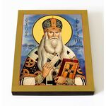 Святитель Серафим Соболев, архиепископ Богучарский, на доске 8*10 см - Иконы