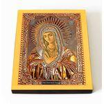 """Икона Божией Матери """"Умиление"""" Локотская, печать на доске 8*10 см - Иконы"""