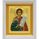 Мученик Иоанн Новый, Янинский, икона в белом киоте 14*16 см - Иконы