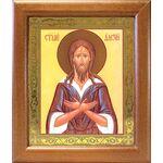 Преподобный Алексий человек Божий, широкая рамка 19*22,5 см - Иконы