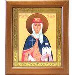 Равноапостольная княгиня Ольга, широкая рамка 19*22,5 см - Иконы