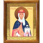Равноапостольная княгиня Ольга, икона в деревянной рамке 17,5*20,5 см - Иконы