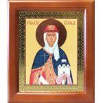 Равноапостольная княгиня Ольга, икона в деревянной рамке 12,5*14,5 см - Иконы