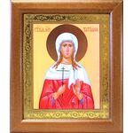 Мученица Татиана Римская, икона в широкой деревянной рамке 19*22,5 см - Иконы