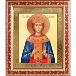 Великомученица Екатерина Александрийская, в рамке с узором 19*22,5 см - Иконы