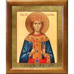 Великомученица Екатерина Александрийская, деревянная рамка 17,5*20,5см - Иконы