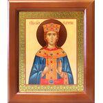 Великомученица Екатерина Александрийская, деревянная рамка 12,5*14,5см - Иконы