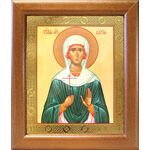 Мученица Дария Римская, икона в широкой рамке 19*22,5 см - Иконы