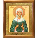 Мученица Дария Римская, икона в деревянной рамке 17,5*20,5 см - Иконы