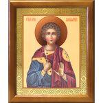 Мученик Вонифатий Тарсийский, икона в деревянной рамке 17,5*20,5 см - Иконы
