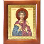 Мученик Вонифатий Тарсийский, икона в деревянной рамке 12,5*14,5 см - Иконы