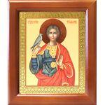 Мученик Трифон Апамейский, икона в деревянной рамке 12,5*14,5 см - Иконы