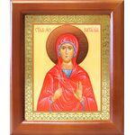 Мученица Наталия Никомидийская, икона в деревянной рамке 12,5*14,5 см - Иконы