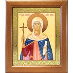 Равноапостольная Нина просветительница Грузии, икона в рамке 19*22,5 - Иконы
